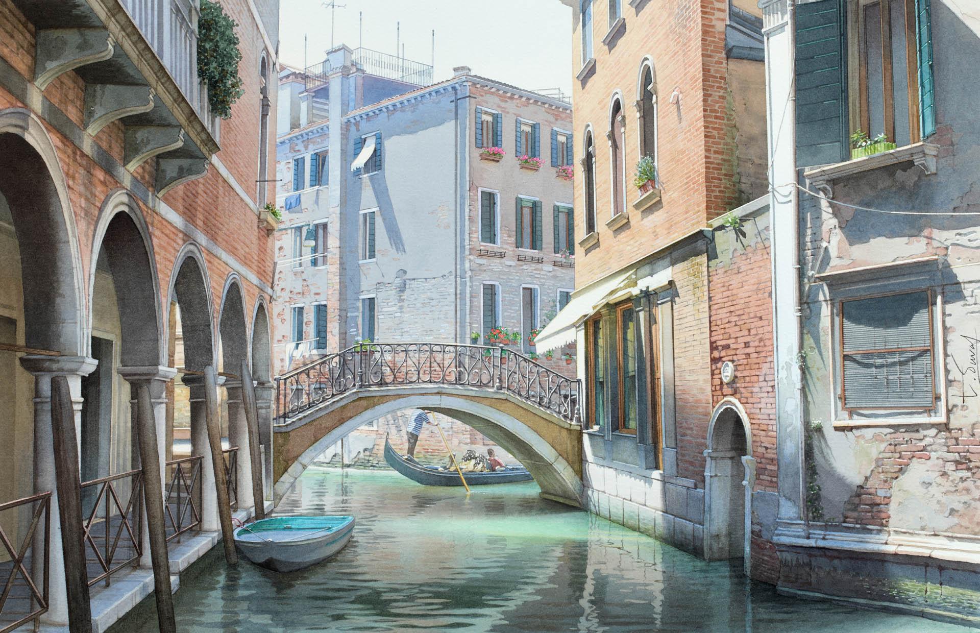 La lumière de Venise