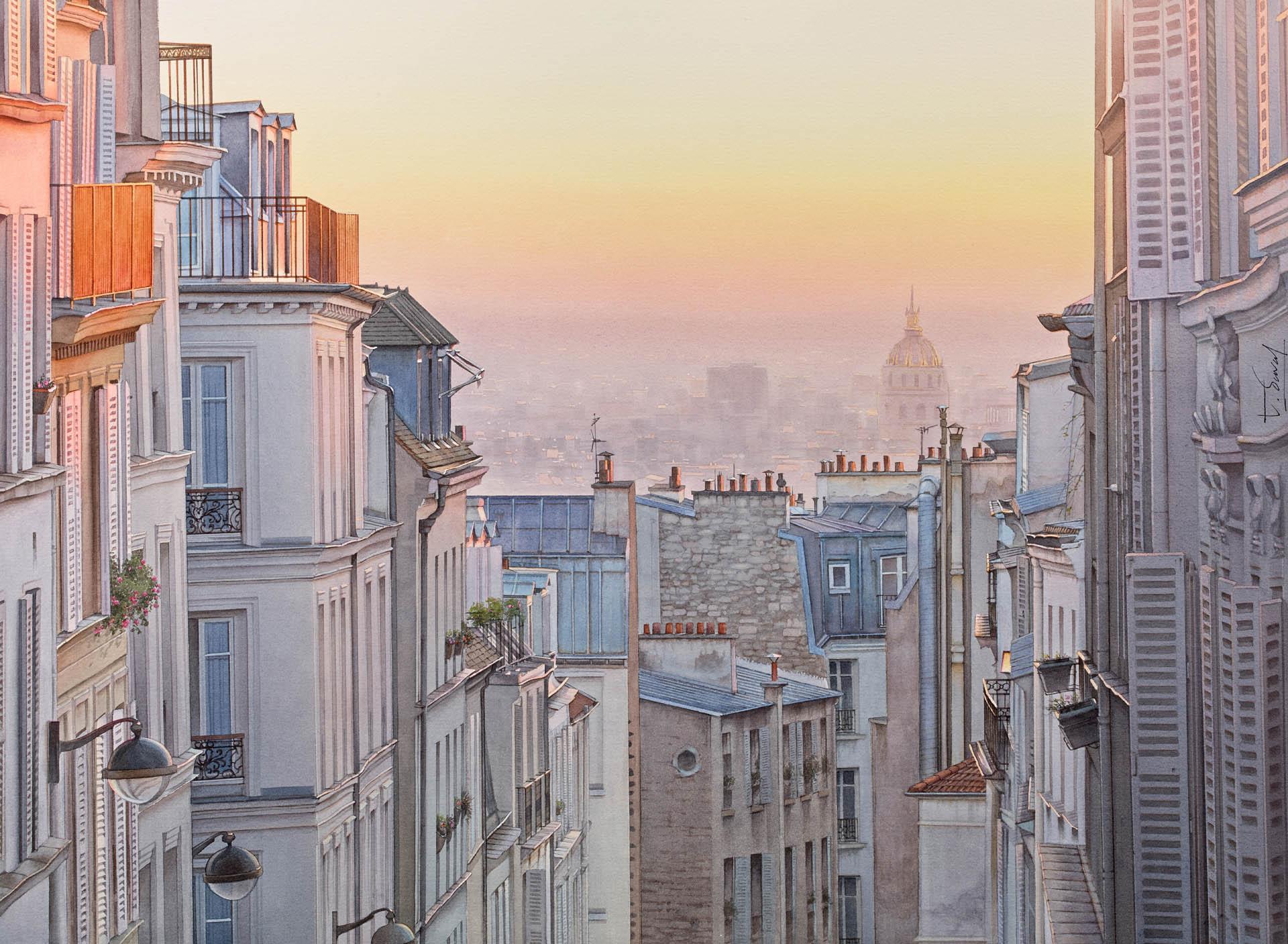 Un balcon sur Montmartre