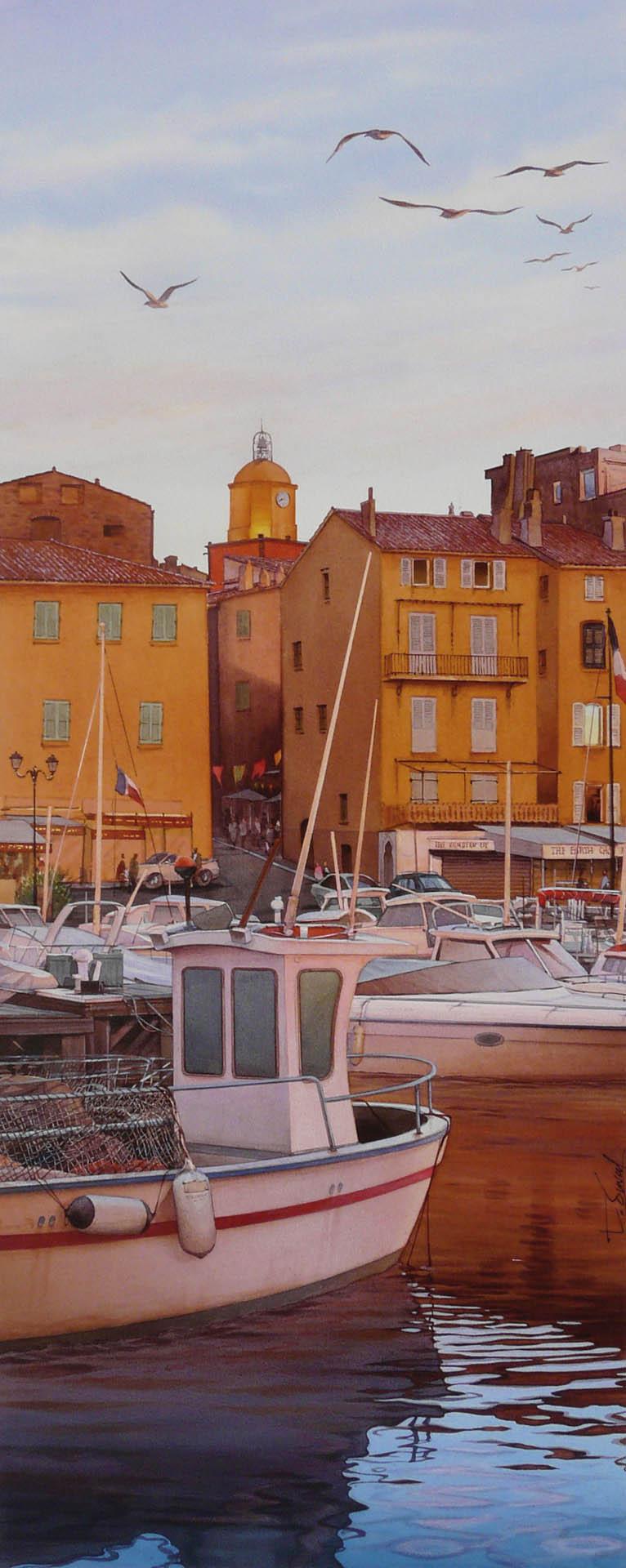 Crépuscule Saint-Tropez